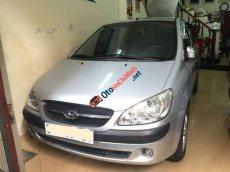 Bán ô tô Hyundai Getz 1.4 AT sản xuất năm 2009, màu bạc, nhập khẩu Hàn Quốc