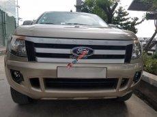 Bán Ford Ranger XLS MT 2014, màu vàng, xe nhập