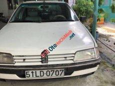 Cần bán lại xe Peugeot 405 đời 1994, màu trắng