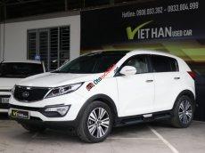 Bán Kia Sportage 2.0AT sản xuất năm 2015, màu trắng, nhập khẩu nguyên chiếc