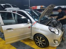 Cần bán lại xe Kia Morning SX AT năm sản xuất 2011, màu bạc