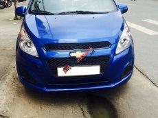 Bán xe Chevrolet Spark 2016 số sàn, màu xanh dương