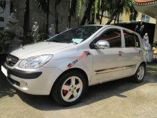 Cần bán lại xe Hyundai Getz 1.4AT sản xuất 2009, màu bạc, toàn bộ còn rất mới trên 90%