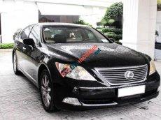 Bán Lexus LS 460L sản xuất năm 2007, màu đen, xe nhập số tự động