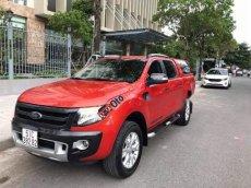 Bán Ford Ranger Wildtrak sản xuất năm 2014, màu đỏ