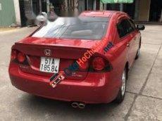 Bán Honda Civic AT đời 2008, màu đỏ, giá tốt