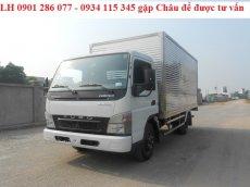 Bán xe tài Mitsubishi Fuso Canter 6.5 tấn/giá tốt/trả góp 70%/thủ tục đơn giản/giao xe ngay