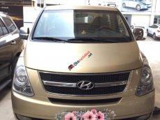 Cần bán gấp Hyundai Starex sản xuất 2012 màu vàng, 686 triệu nhập khẩu