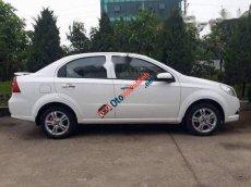Bán xe Chevrolet Aveo 1.5 LTZ đời 2014, màu trắng, còn mới