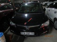 Bán ô tô Honda Civic 1.8 AT sản xuất 2007, màu đen số tự động
