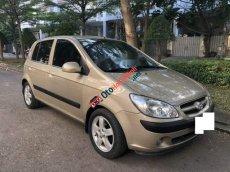 Cần bán lại xe Hyundai Getz 1.4 AT đời 2007, màu vàng, nhập khẩu còn mới