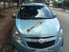Gia đình bán xe Chevrolet Spark LT đời 2012, màu xanh