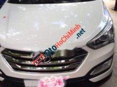 Bán Hyundai Santa Fe sản xuất 2012, màu trắng, nhập khẩu nguyên chiếc