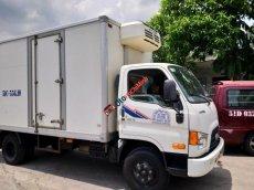 Bán xe tải lạnh còn mới Hyundai HD sản xuất 2015, màu trắng, giá chỉ 650 triệu