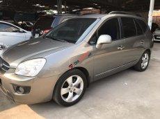 Bán Kia Carens SX 2.0AT màu xám, số tự động, sản xuất 2009, biển Sài Gòn 1 đời chủ