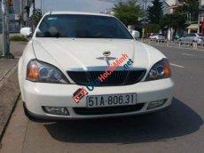 Bán ô tô Daewoo Magnus 2.0 sản xuất 2005, màu trắng, còn zin nguyên
