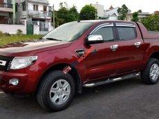 Cần bán lại xe Ford Ranger XLT năm 2015, màu đỏ số sàn, giá tốt