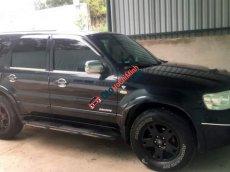 Bán Ford Escape 3.0 năm 2004, màu đen, giá chỉ 200 triệu
