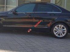 Bán xe Mercedes C200 đời 2012, màu đen như mới