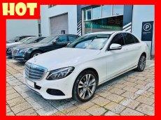 Bán xe Mercedes C250 trắng form 2018. Trả trước 550 triệu nhận xe ngay
