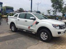 Bán Ford Ranger XLT sx 2014, số tự động 2 cầu máy dầu, màu trắng