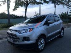 Cần bán gấp Ford EcoSport AT sản xuất 2014, màu bạc số tự động