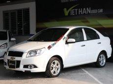 Bán ô tô Chevrolet Aveo 1.5AT 2014, màu trắng