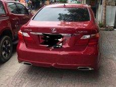 Bán Lexus LS 460L 2007, màu đỏ, xe nhập xe gia đình