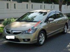 Cần bán lại xe Honda Civic 1.8 AT năm 2010, màu vàng xe gia đình