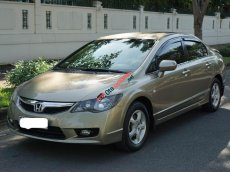 Honda Civic 1.8AT màu ghi vàng 2010