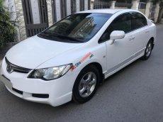 Mình cần bán Honda Civic 2008 tự động, trắng tuyệt đẹp