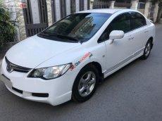 Bán xe Honda Civic AT năm sản xuất 2008, màu trắng xe gia đình