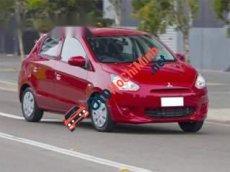 Cần bán gấp Mitsubishi Mirage đời 2013, màu đỏ, chính chủ