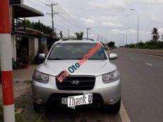 Cần bán xe Hyundai Santa Fe năm sản xuất 2007, màu bạc, xe nhập số tự động, giá 450tr