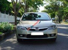 Bán gấp Honda Civic 1.8AT 2010, màu vàng xe gia đình, giá chỉ 435 triệu