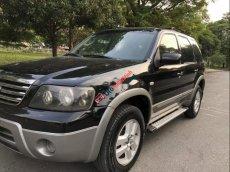 Bán xe Ford Escape 2.3 XLS đời 2007, màu đen