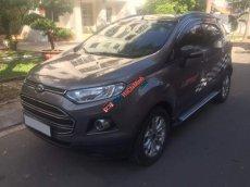 Cần bán xe Ford Ecosport Titanium sản xuất 2015, màu nâu, số tự động, biển Sài Gòn