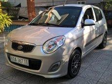 Bán Kia Morning màu bạc đời 2011 số tay MT, xe còn cứng