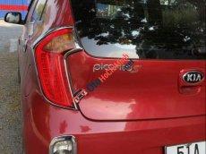 Cần bán lại xe Kia Morning S sản xuất năm 2014, màu đỏ, 305 triệu