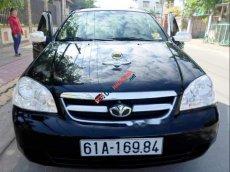Tôi cần bán xe Daewoo Lacetti dòng cao cấp EX 1.6 rất kinh tế, số sàn, màu đen