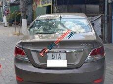 Bán Hyundai Accent 1.4AT đời 2011, màu nâu