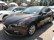 Bán ô tô Mazda 3 1.5 sản xuất 2015, màu nâu, nhập khẩu