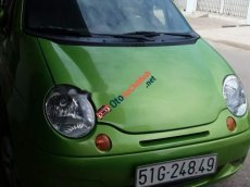 Bán Daewoo Matiz SE đời 2004, màu xanh cốm
