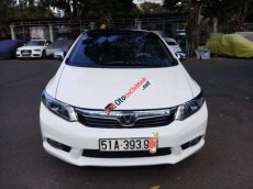 Bán Honda Civic 1.8 AT đời 2012, màu trắng số tự động, giá 519tr
