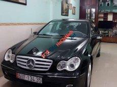 Chính chủ bán Mercedes C240 năm sản xuất 2005, màu đen