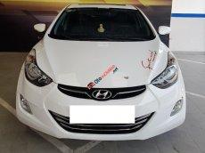 Hyundai Elantra GLS 1.8AT, 2013, màu trắng, nhập Hàn, xe đi gia đình lên nhiều đồ chơi