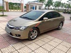 Cần bán xe Honda Civic 2009 số tự động, 1.8 full option, màu vàng cát