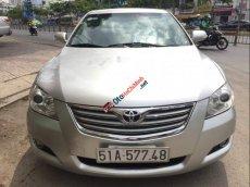 Gia đình cần bán xe Toyota Camry 2.4G sản xuất 2007 màu bạc, số tự động