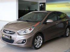 Bán ô tô Hyundai Accent Blue 1.4AT hatckbach 2014, màu nâu, nhập khẩu nguyên chiếc, 448tr