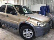 Bán Ford Escape V6 3.0 2002, màu ghi vàng, xe nhà sử dụng kỹ